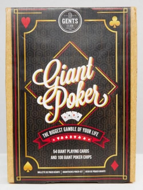 Jeu de Poker Géant