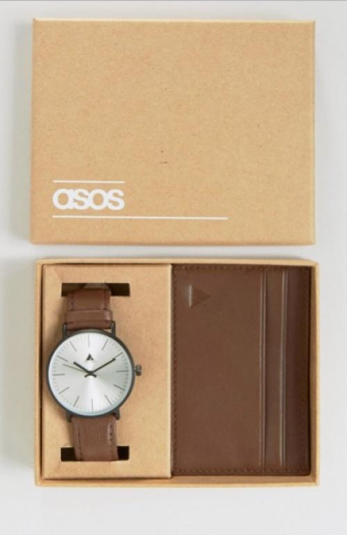 ASOS - Coffret montre et porte-cartes