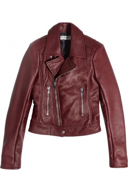 Balenciaga - Veste en cuir