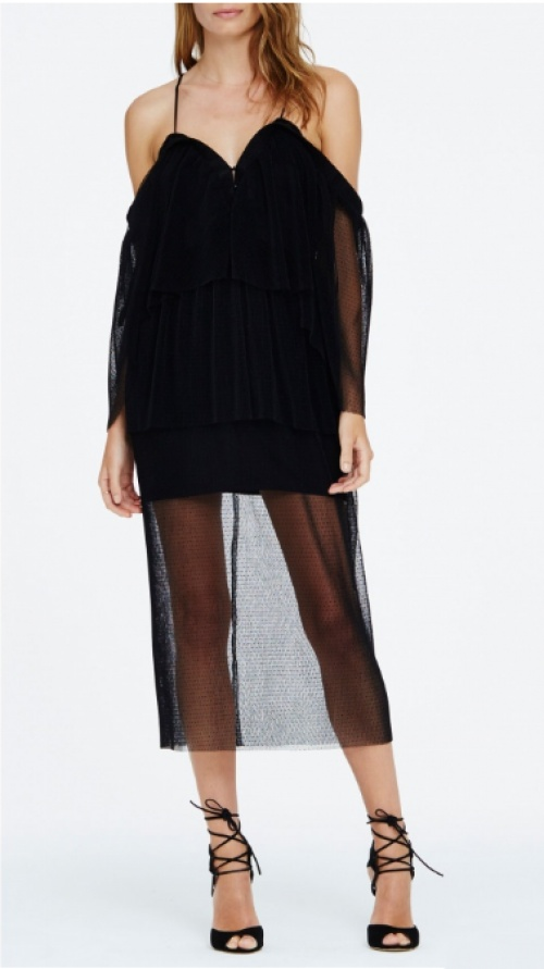 LOVE AND DESIRE DRESS - BLACK