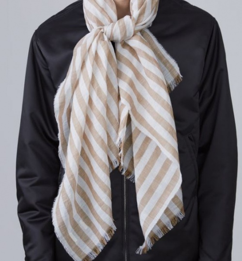 Acne Studios - foulard rayé