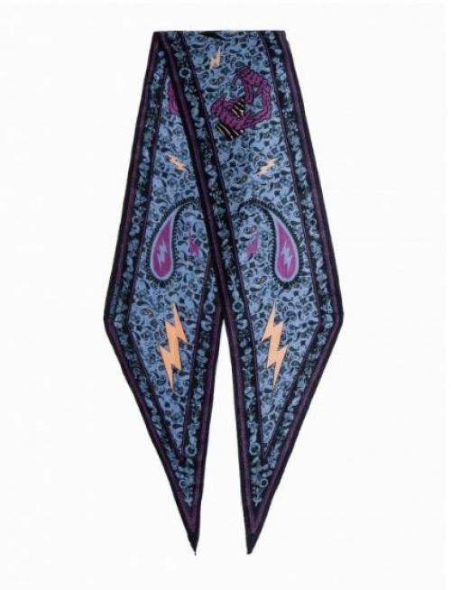 Zadig & Voltaire - foulard style bandana en soie