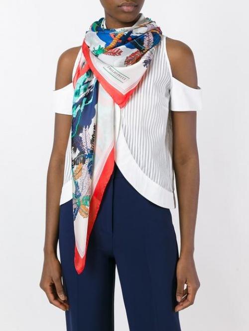 Emilio Pucci - foulard imprimé paysage