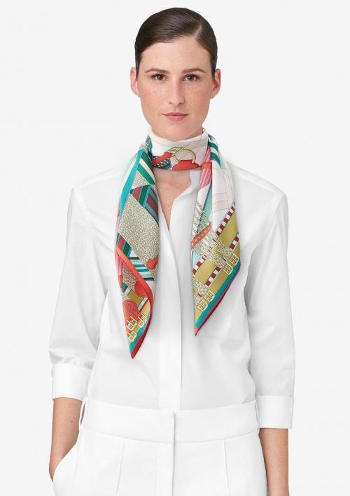Hermès - foulard soie
