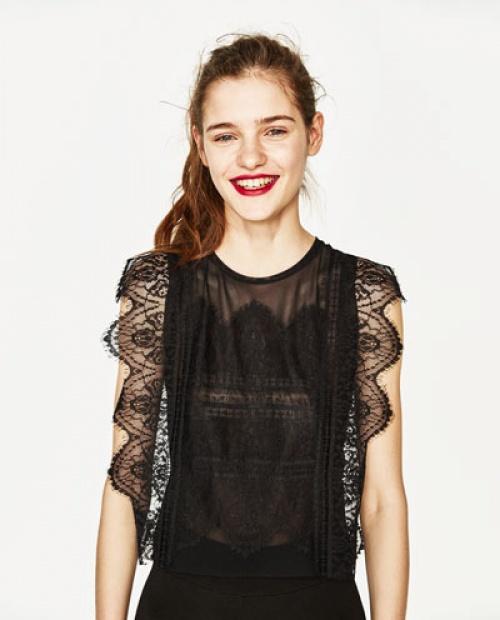 Zara - Top noir