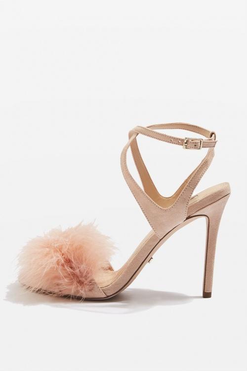 Sandales à plumes REINE