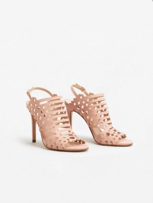 Sandales motif perforé