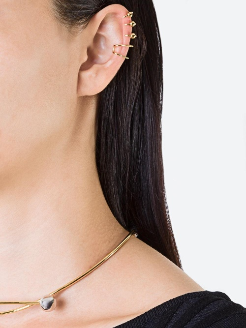 MARIA BLACK  'Orbit' earcuff