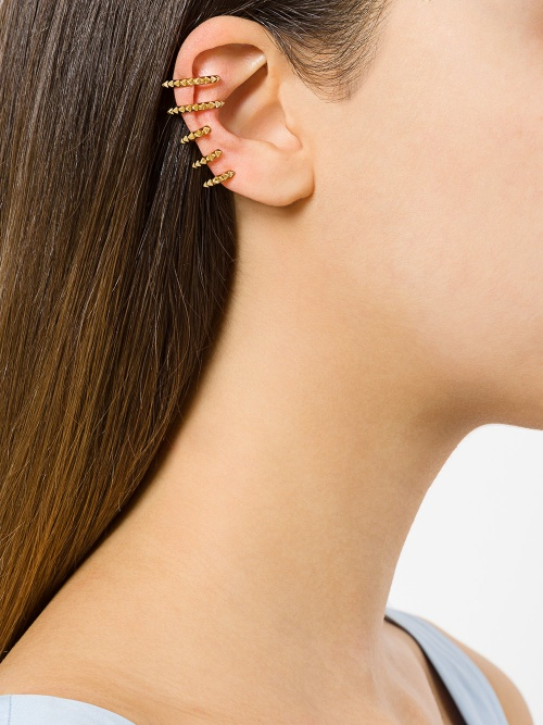 KASUN LONDON  Cage Croc earcuff