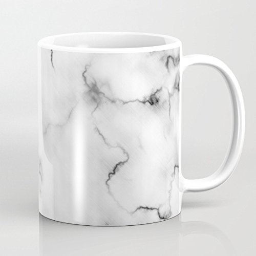 quadngaagd marbre 11-Ounce Mug Tasse à Café Tasse à thé Blanc