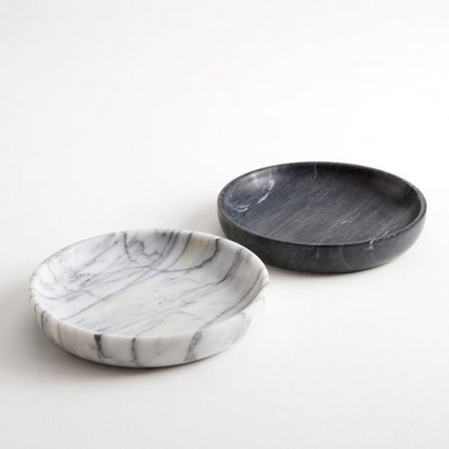 Coupelle en marbre Ø25 cm, Ksénia
