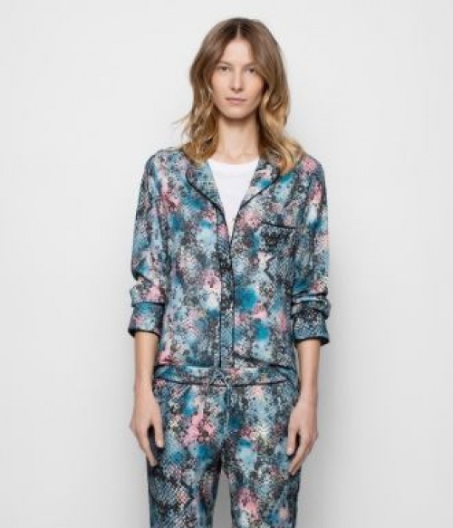 Zadig & Voltaire - Chemise pyjama imprimée