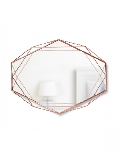 Umbra - Miroir laiton