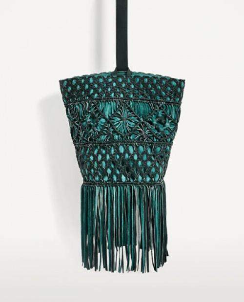 Zara - Sac de paille