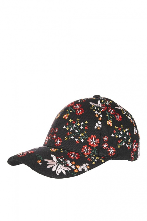 Topshop - Casquette fantaisie à fleurs