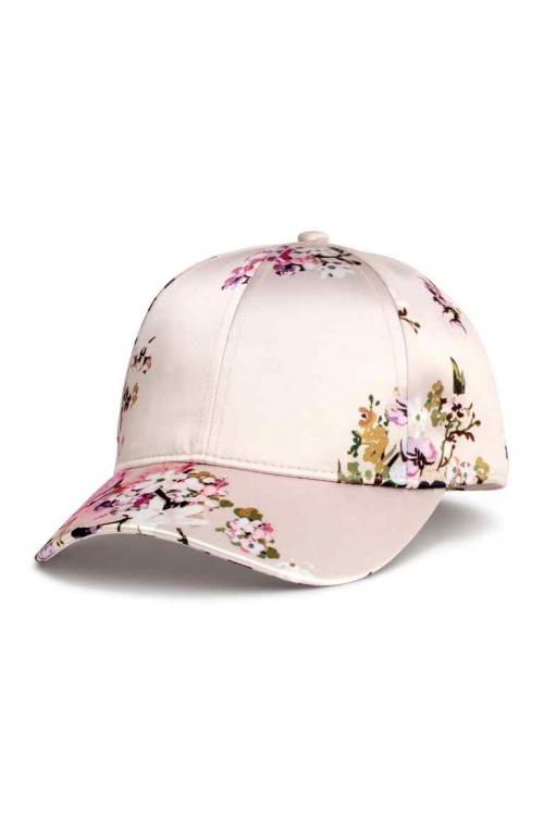 H&M - Casquette à fleurs