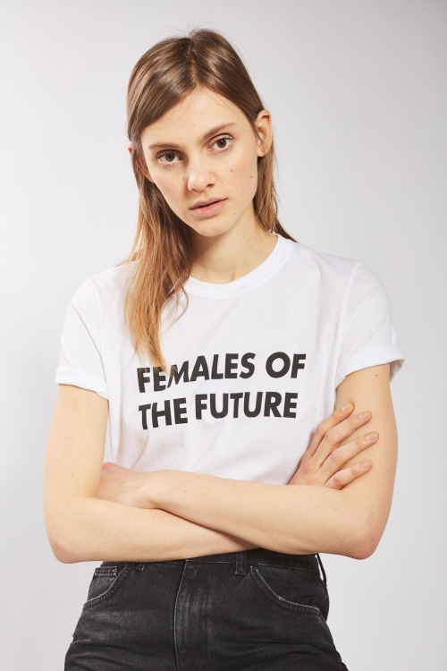 Topshop - T-shirt message