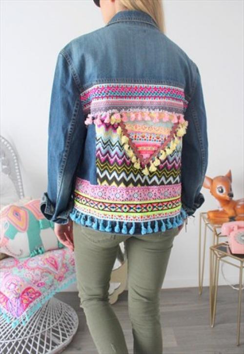 date de sortie nouvelle collection 100% de qualité 25 vestes en jean brodées dans le dos qui vont puncher votre ...