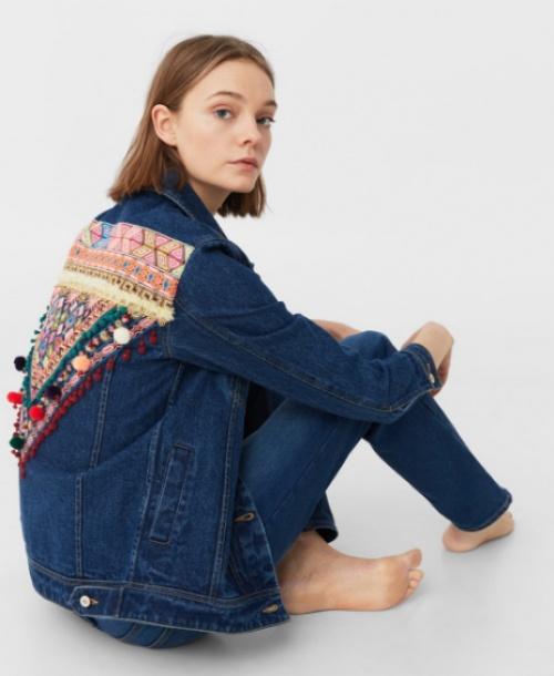 25 vestes en jean brodées dans le dos qui vont puncher votre
