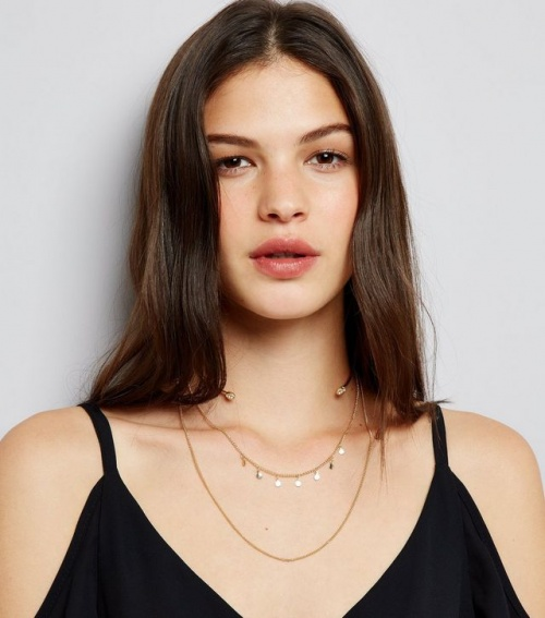 Collier gold - New Look