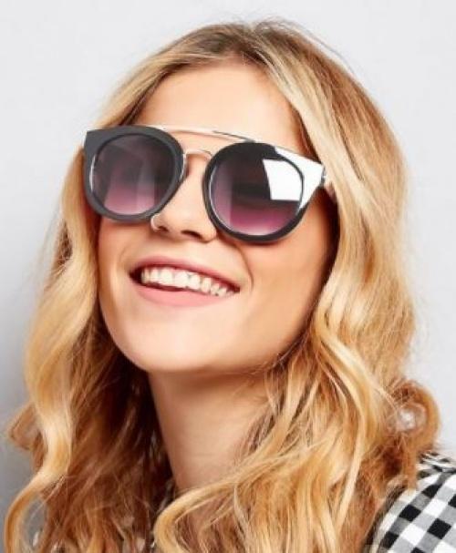 New Look - Lunettes de soleil double barre
