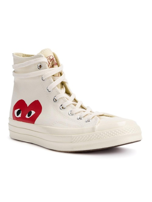 converse all star comme des garcons play