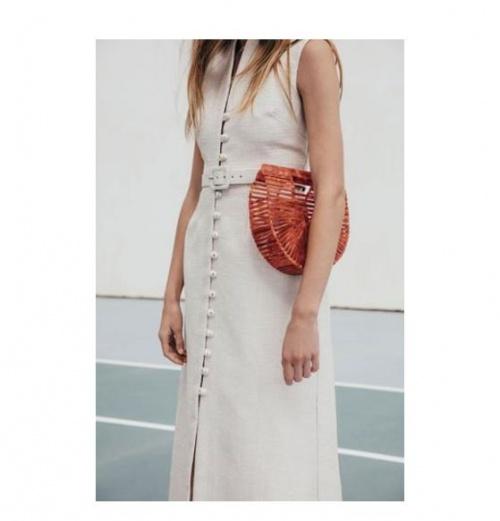 sac en acrylique rouge