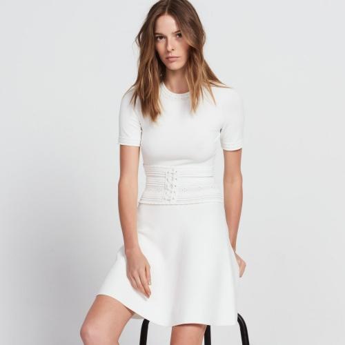 robe blanche avec corset