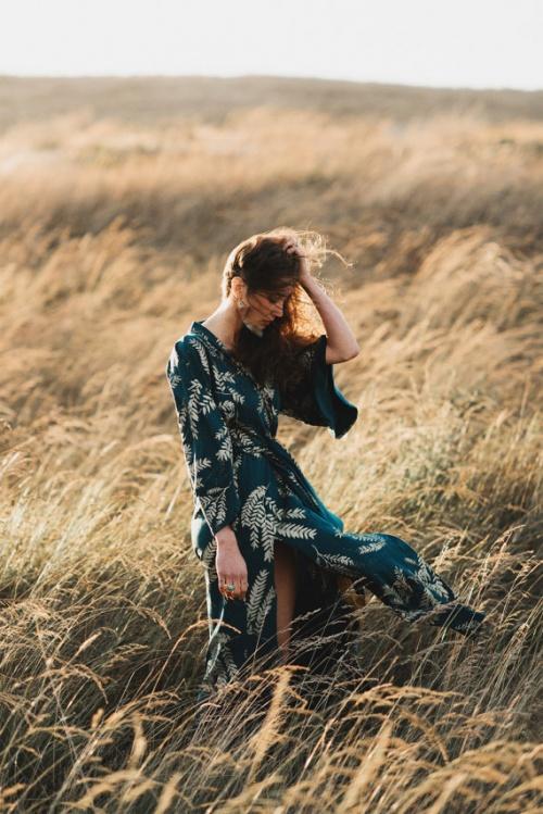 Simka Sol - Robe kimono