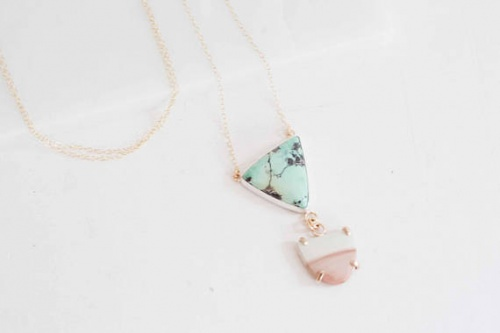 Mineralogy Design - Collier