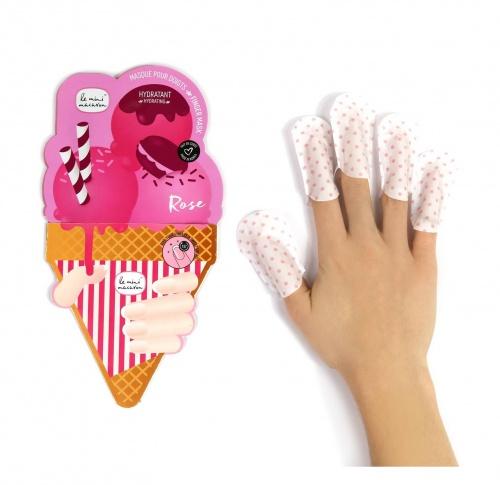 Masque doigts Rose Lavande - Le Mini Macaron
