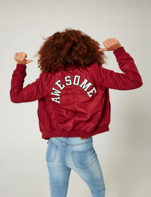 Bomber rouge