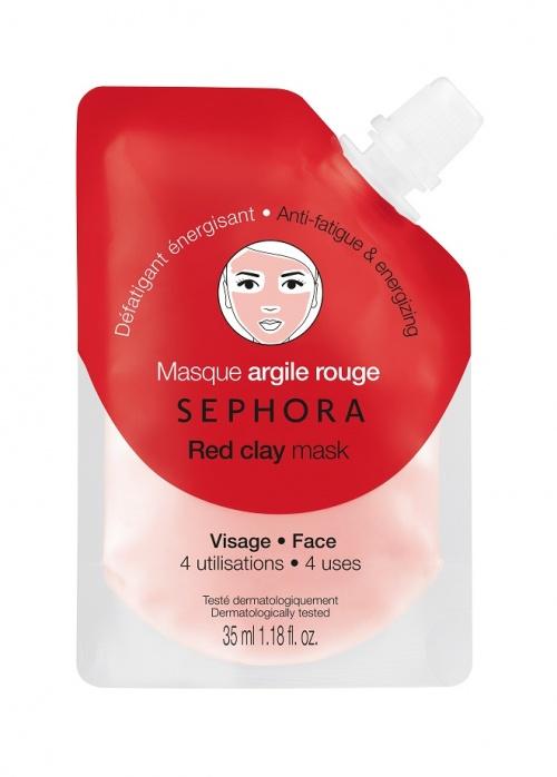 Sephora Collection - Masque argile / Argile rouge Défatigant énergisant