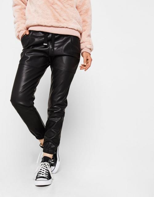 56ceb47b94 30 superbes pantalons en cuir qui vont vous faire craquer !