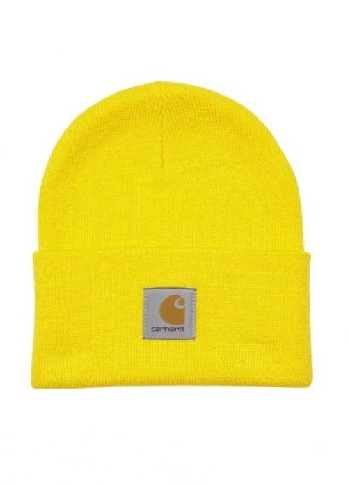 28/34 Carhartt , Bonnet jaune fluo