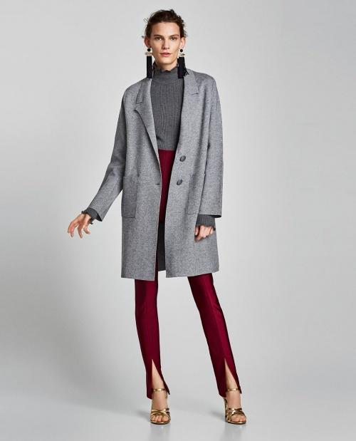 Zara - Manteau à poches