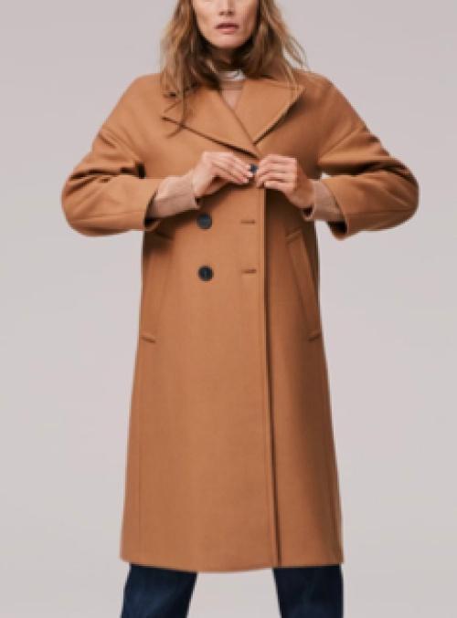 Zara - Manteau  long camel