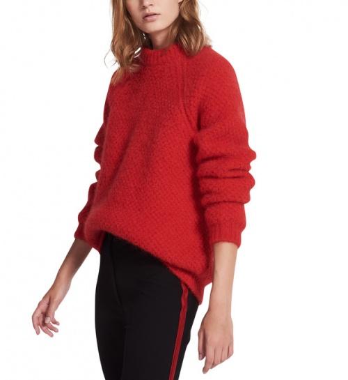 Sandro - Pull rouge