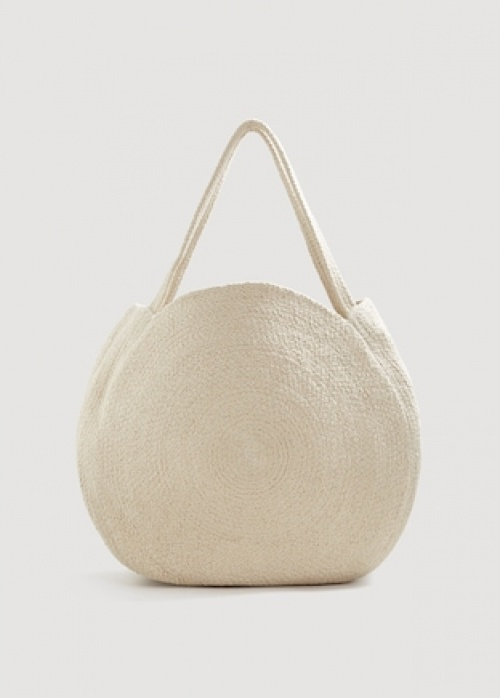 Mango -  Sac shopper rond
