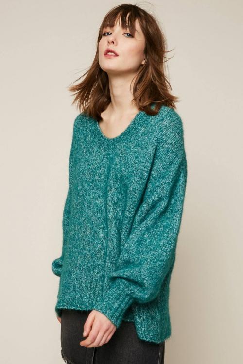 American Vintage - Pull en laine mélangée