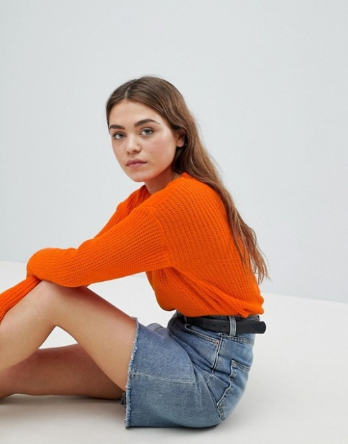 Boohoo - Pull ras du cou en maille