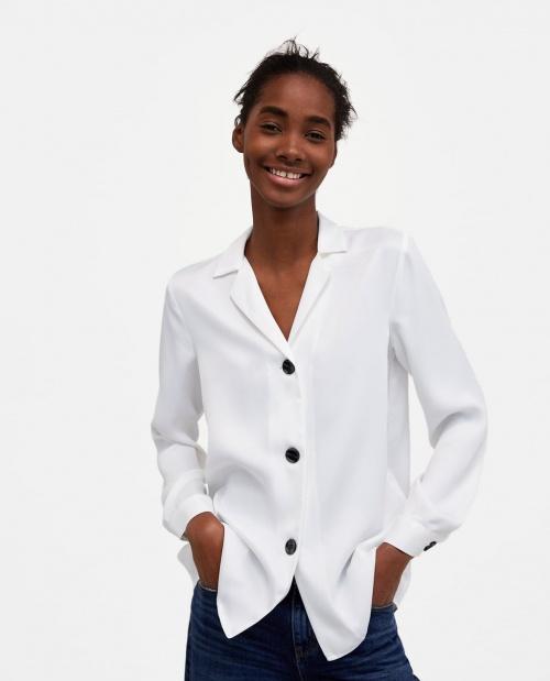Zara - Chemise à boutons