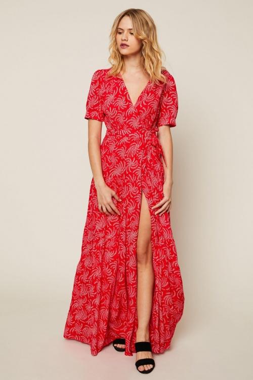 6d541e381c1 35 robes maxi imprimées hyper chics et tendance pour se la jouer ...