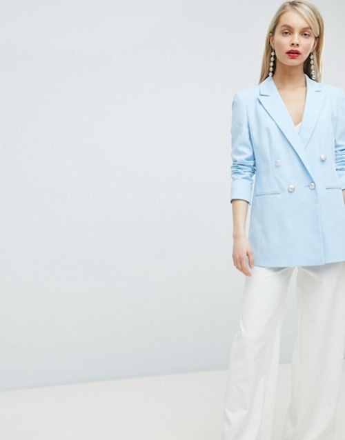 Miss Selfridge - Blazer croisé