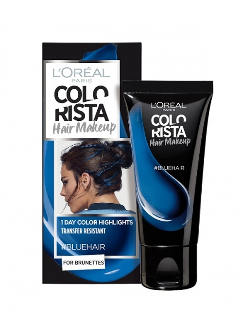 L'Oréal Paris - Colorista Hair Makeup - #BlueHair