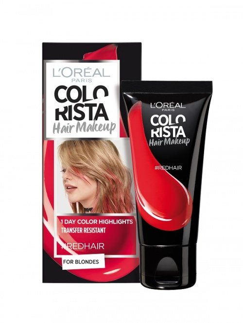 L'Oréal Paris - Colorista Hair Makeup - #RedHair