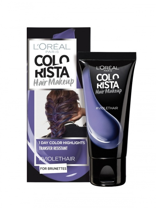 L'Oréal Paris - Colorista Hair Makeup - #VioletHair