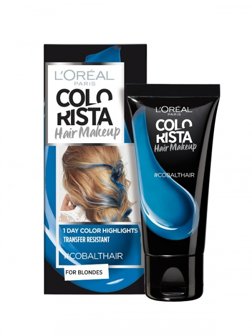 L'Oréal Paris - Colorista Hair Makeup - #CobaltHair