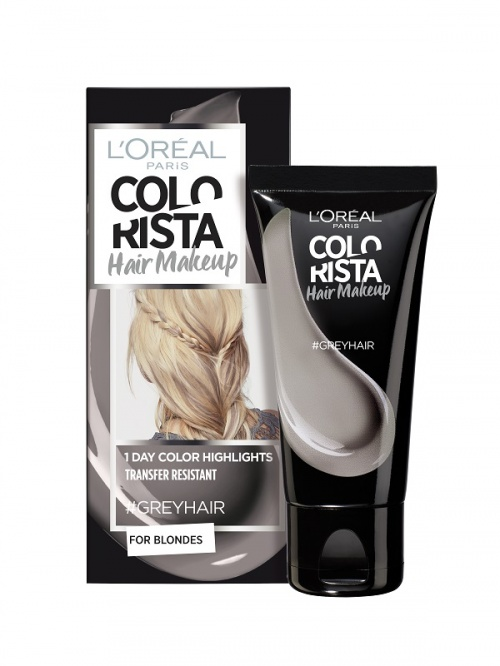 L'Oréal Paris - Colorista Hair Makeup - #GreyHair