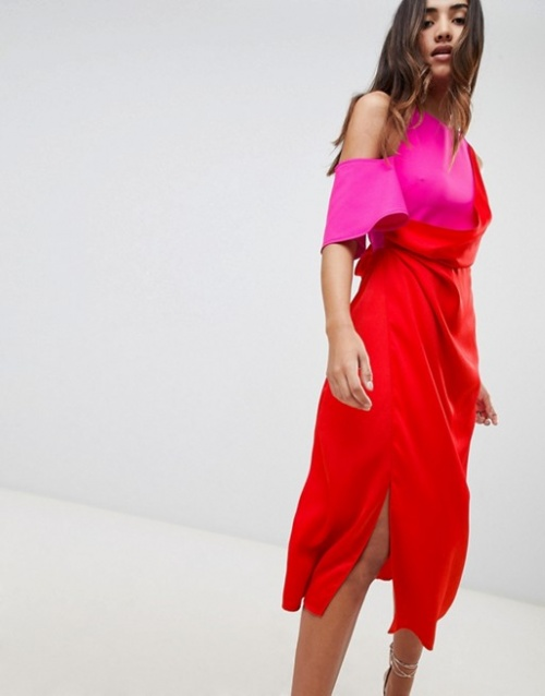 ASOS DESIGN - Robe fourreau